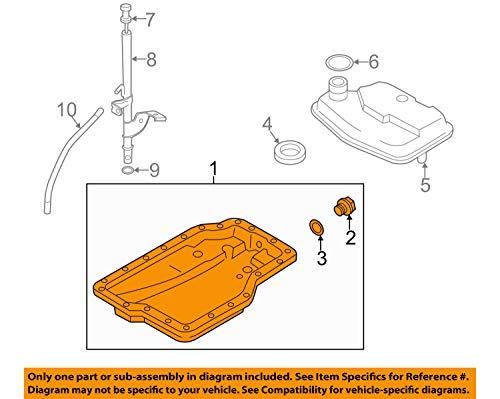 2006-2013 Mazda3/5/6/CX-7 AUTOMATIC Transmission Oil Pan Replacement GENUINE OEM FSL0-21-51XB ()