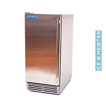 NEW Icemeister Undercounter 50 Lb Cube Quality Ice Machine Az-20d - NSF & UL Certified -Outdoor Use Approved