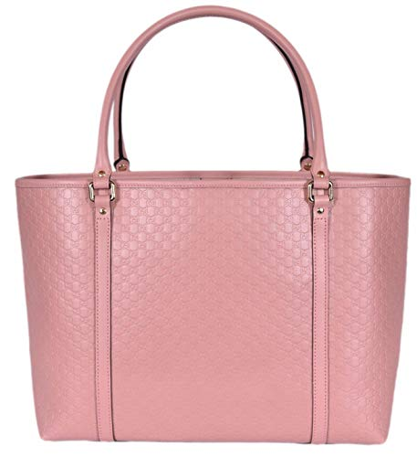 Gucci Women's Micro GG Guccissima Leather Joy Purse Tote (Soft Pink)