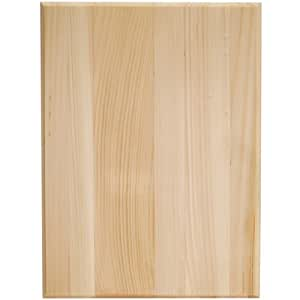Walnut Hollow Pine Rectangle Plaque, 9 by 12 by 0.63-Inch