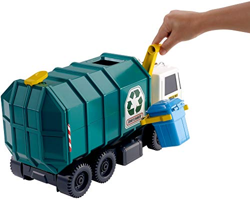 41BuDbhmIXL - Matchbox Garbage Truck Large [Amazon Exclusive]