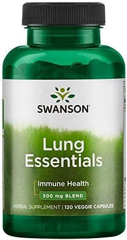 Swanson Lung Essentials 120 Veg Capsules