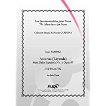 CLASSICAL SHEET MUSIC - Asturias - Extracts - I. ALBENIZ - Solo Piano
