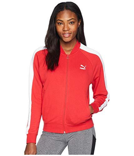 PUMA Women's Classics T7 Track Jacket Ribbon Red Small