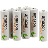AmazonBasics AAA Rechargeable Batteries (12-Pack) - Packaging May Vary