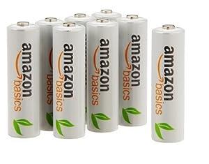Amazon.com: AmazonBasics AAA Rechargeable Batteries (12