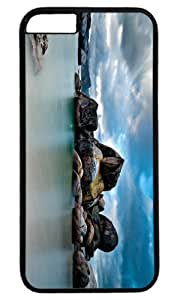 Coastline Case for iPhone 6 Plus PC Black by Cases & Mousepads