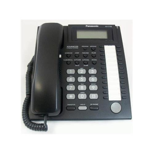 Systems Kx Td Telephone (Panasonic KX-T7736-B Black Phone)