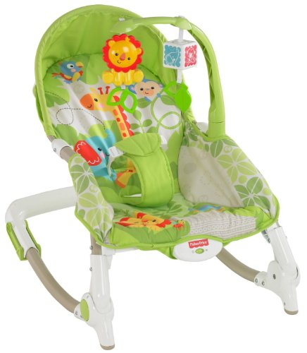 Fisher-Price Newborn to Toddler Rocker (Multicolor)