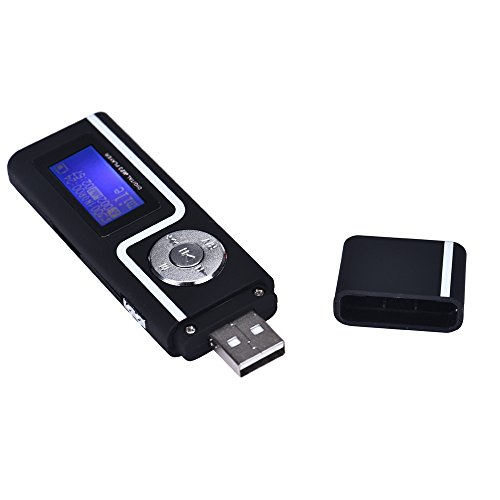 Portable USB MP3 Music Player LCD Screen Support 16GB TF Card - U Disk mp3 |Play Functions: Normal, Repeat,A-B Replay,Replay time,Replay Gap LCD HD Screen Supported Audio Formats of mp3,etc Black