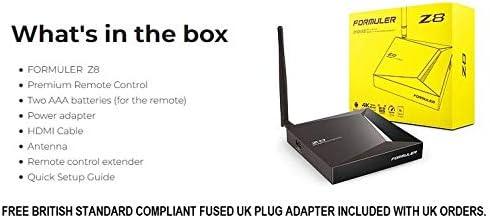 MAXDIGI FORMULER Android Box 2GB RAM 16GB ROM Dual Band Gigabit LAN with PLUG