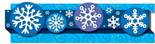 Carson Dellosa Snowflakes Borders (108042)