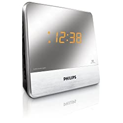 Philips AJ3231 Mirror Finish Clock Radio