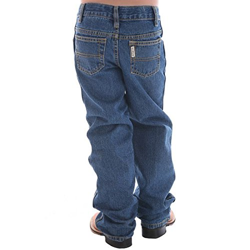 Boys Original Fit Jeans - Cinch Boys' Little Original Fit Regular Jean, Medium Stone wash, 6R