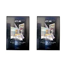 POSTER FRAMES TWO (2) FRAME VALUE PACK 27 inch x 40 inch