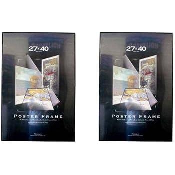 4 four 27x40 poster frames 27 inch x 40 inch value pack movie poster frames. Black Bedroom Furniture Sets. Home Design Ideas