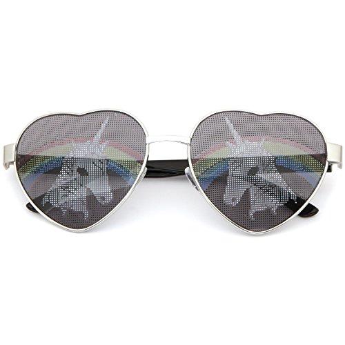 SUNGLASSES LUXE - Unicorn Heart Shaped - Unicorn Sunglasses