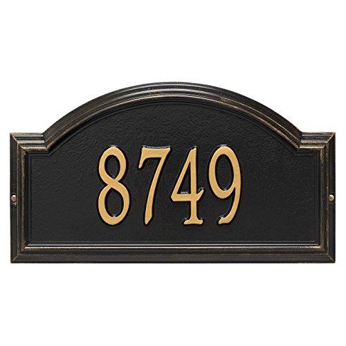 Custom Providence Arch WALL Address Plaque 1 Line 17