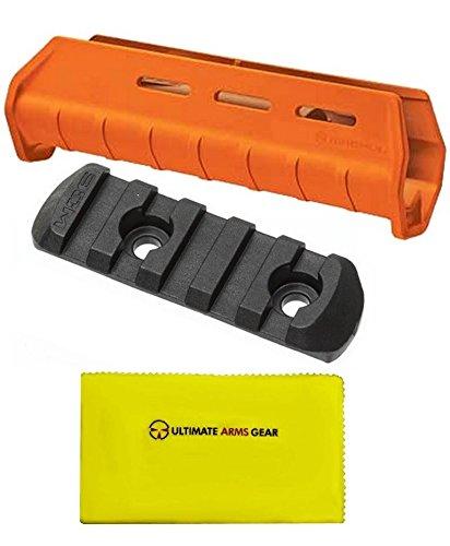 Magpul MAG491 MAG 491 MOE Orange + MAG406 MAG 406 MOE Black + Ultimate Arms Gear Gun Silicone Cloth