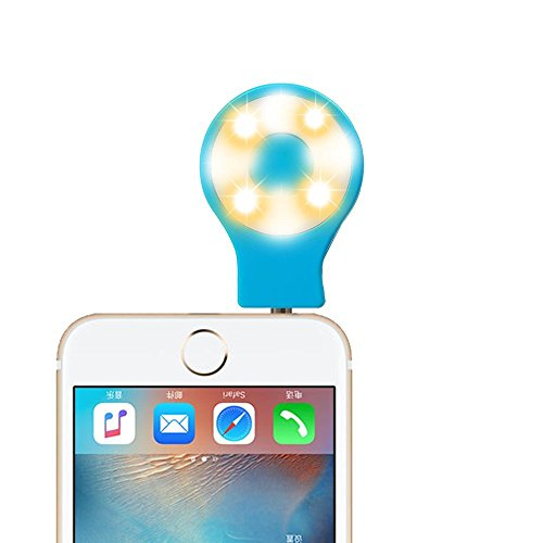 Portable Dimmable Cellphone Spotlight Smartphones