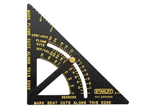 Stanley 46-053 Premium Adjustable Quick Square Layout Tool
