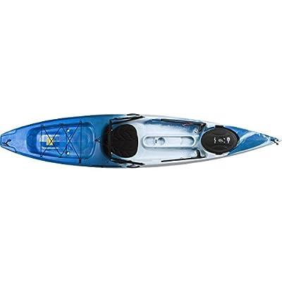 07.6256.1071 Ocean Kayak Tetra 12 Sit-On-Top Kayak, Surf by Johnson Outdoors Watercraft