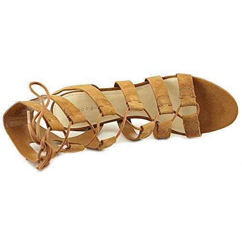 Marc Fisher de la mujer Patsey vestido sandalia Medium Brown