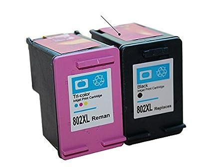 802 Compatible para HP 802 cartucho de tinta compatible para ...