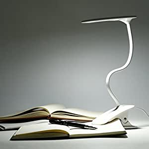 ICOCO Lampara LED de Flexo con Pinza para Cama Kindle Leer