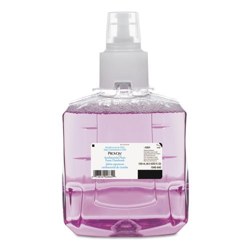 PROVON Antibacterial Plum Foam Hand Wash, 1200mL Refill, Plum Scent - Includes two refills.