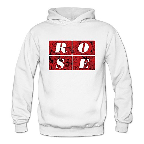 Fred Hoiberg 1 Chicago Bulls Derrick Rose Hoodies Women's White ()