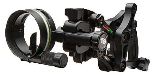 TRUGLO Range-Rover Series Single-Pin Moving Bow Sight, Black, Left-Handed.019