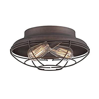 Millennium Two Light Flushmount 5382-Rbz