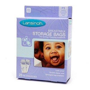 Amazon.com: Lansinoh leche materna bolsas de almacenaje 25 ...