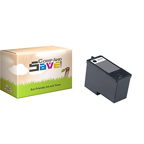 CompAndSave Replacement for Dell V305 All-in-One Printer Inkjet Cartridge, Dell MK992 / MK990 Black Series 9 Ink Cartridge