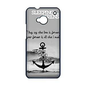 Sleeping with Sirens Cross Great Waves HTC One M7 On Your Style Christmas Gift Cover Case