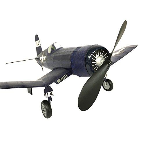 Corsair Vought F4U Rubber Powered Flying Scale Balsa Wood Model Kit Like Keil Kraft ...