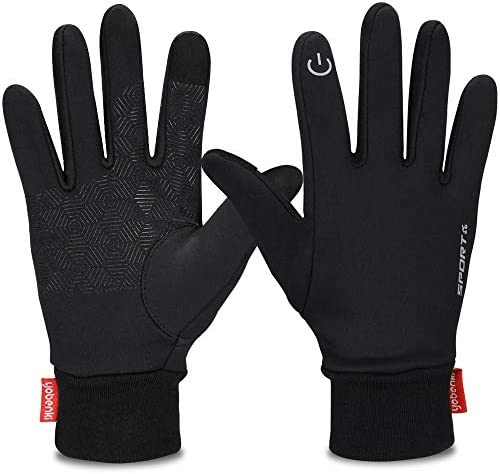 Yobenki Gloves Touch Gloves Waterproof Windproof Activities