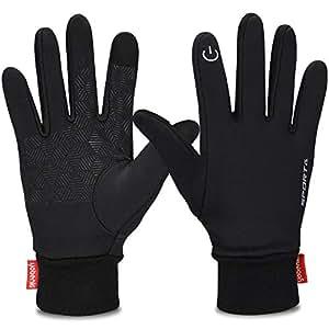 Amazon.com : Yobenki Winter Gloves, Cycling Gloves Touch
