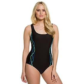 Women's Plus Size Ocean Tones Tank Swimsuit 659377 41BuNy7hS2L
