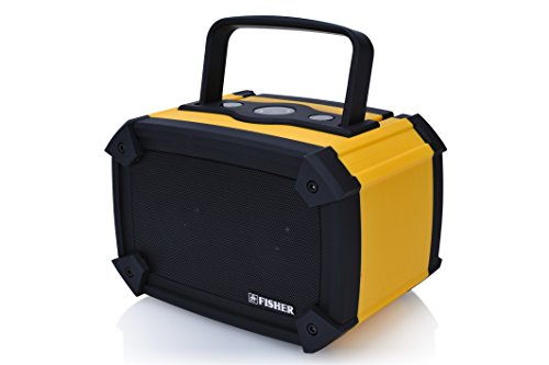 Fisher FBT960Y Waterproof Wireless Boombox