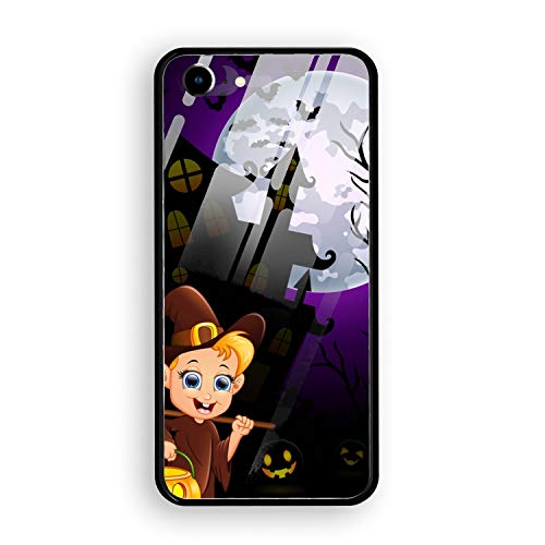 iPhone 7 Case,Halloween Costumes Mummy Tempered Glass Hard