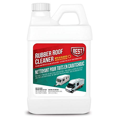 Protec Rubber Roof - B.E.S.T. 55048 Rubber Roof Cleaner/Protectant - 48 oz (Packaging may vary)