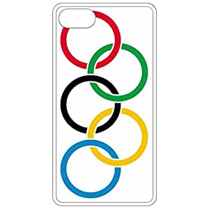 Olympic Rings Flag White Apple Iphone 6 (4.7 Inch) Cell Phone Case - Cover