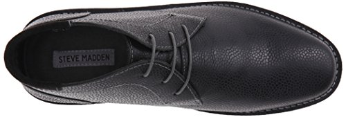 Steve Madden Mens Helman-a Chukka Boot Nero In Rilievo