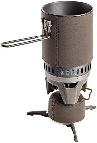 Set de cocina de 1 litro con bandeja de gas TAC-Boil: Amazon ...