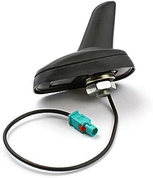 CYNDIE Antena de Techo Activa para vehículo, tiburón Fakra para VW Golf 5 6 Passat Polo Tiguan Touran T5