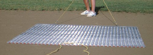 Baseball Softball Drag Mat - 6'W X 2'D. Perfect Size Leveling The Infield. One Year Warranty.