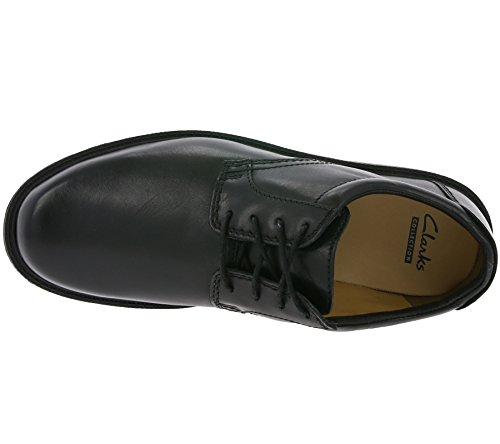 Scarpe Dark Brown stringate uomo Black Clarks Marrone 7wSfpxSq