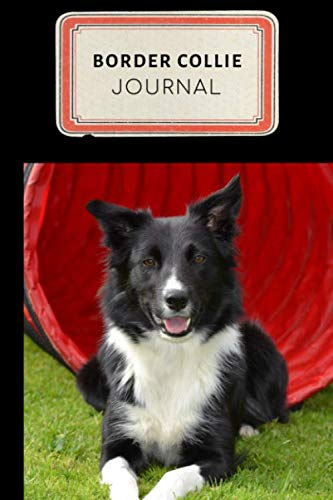 Border Collie Journal: Cute Border Collie Training Journal - A Dog Show Exhibitor's Log Book - 100 pages 6 x 9 inches (Border Collie Training  Series Volume 9)